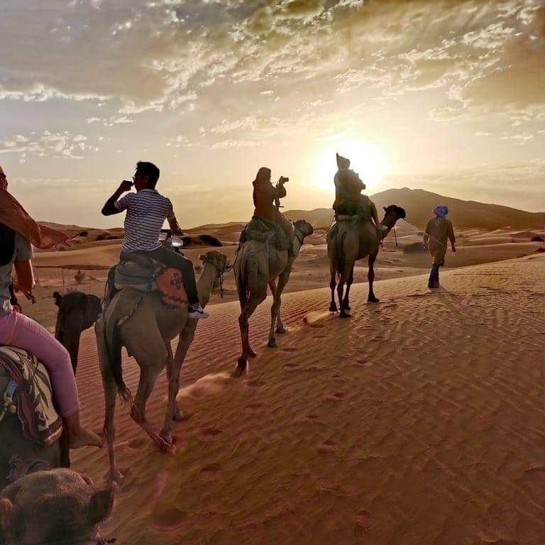 Morocco Camel Trekking & Desert Camping