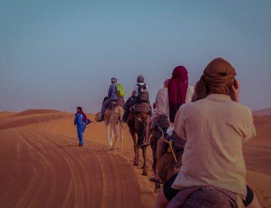 Morocco Merzouga camel trekking