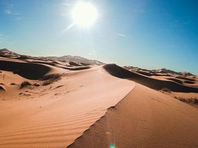 Merzouga Camel trek sunrise