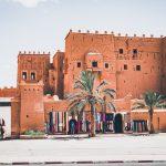 Ouarzazate. Casbah of Taourirt